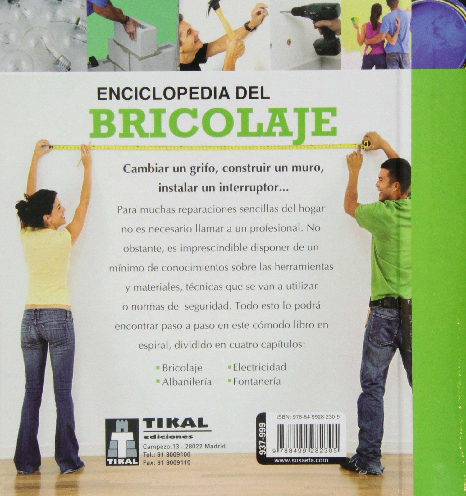 Enciclopedia del bricolaje Enciclopedia de bricolaje: Amazon.es: Equipo Susaeta: Libros