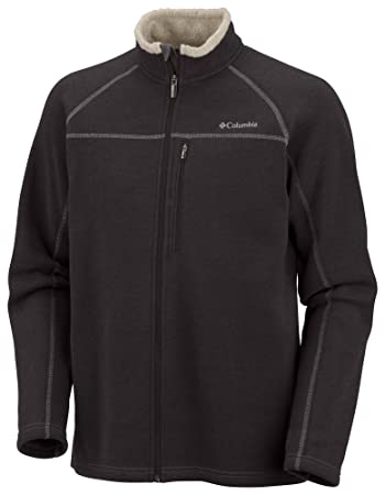 Columbia herren fleece jacke northern peak full zip