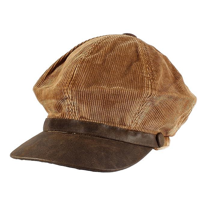 0a3e11d29d3 Image Unavailable. Image not available for. Color  Morehats Cotton Corduroy  Flat Cap Cabbie Hat Gatsby Ivy ...