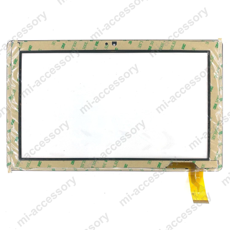 /2/27/cm Ersatz Touchscreen Digitizer Glas f/ür EIN Dragon Touch x10 DYYSELLS G1/= gt10pwn106/Sockel/