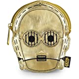 Coin Bag - Star Wars - C3PO Metallic Gold New Licensed stcb0004