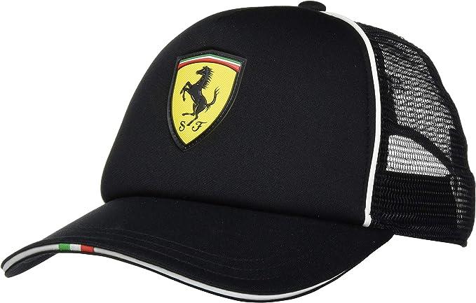 Puma Herren Ferrari Fanwear Trucker Cap Black Adult Amazon De Bekleidung