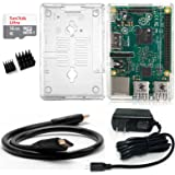 wiwiston Raspberry Pi3 Model B ラズベリーパイ セット — ケース(カメラーモジュール開口ある)&16GB Micro SD カード&5V/2.5Aアダプタ(PSE取得済)&HDMIケーブル ラズパイ本体は付きおりません