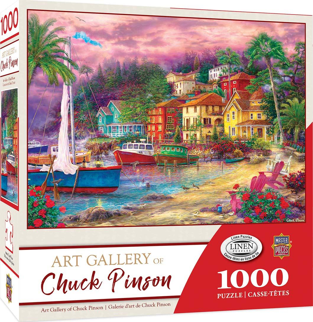 激安通販 Masterpieces チャックピンソン B07Q76CG69 アートギャラリー ゴールデンショア 1000ピース 1000ピース ジグソーパズル B07Q76CG69, 高島町:51a559fa --- a0267596.xsph.ru
