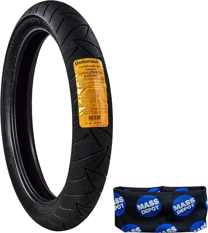 02440560000 Continental Conti Road Attack 2 Front Tire 120//70ZR-18 TL 59W