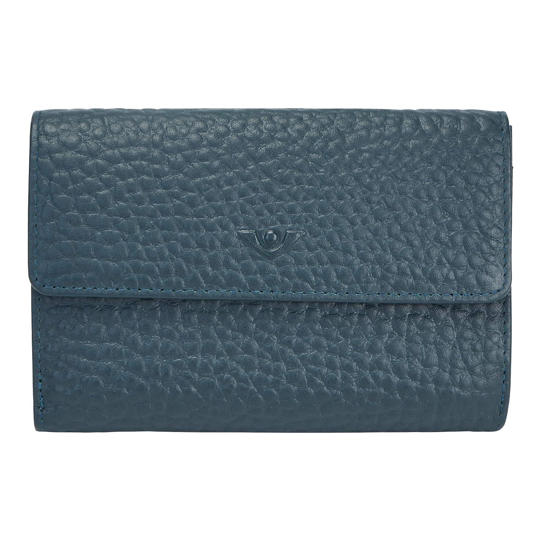 voi leather design VOi Bestseller Damenbörse HIRSCH 70249 Rindsleder geprägt: Farbe: Peacock