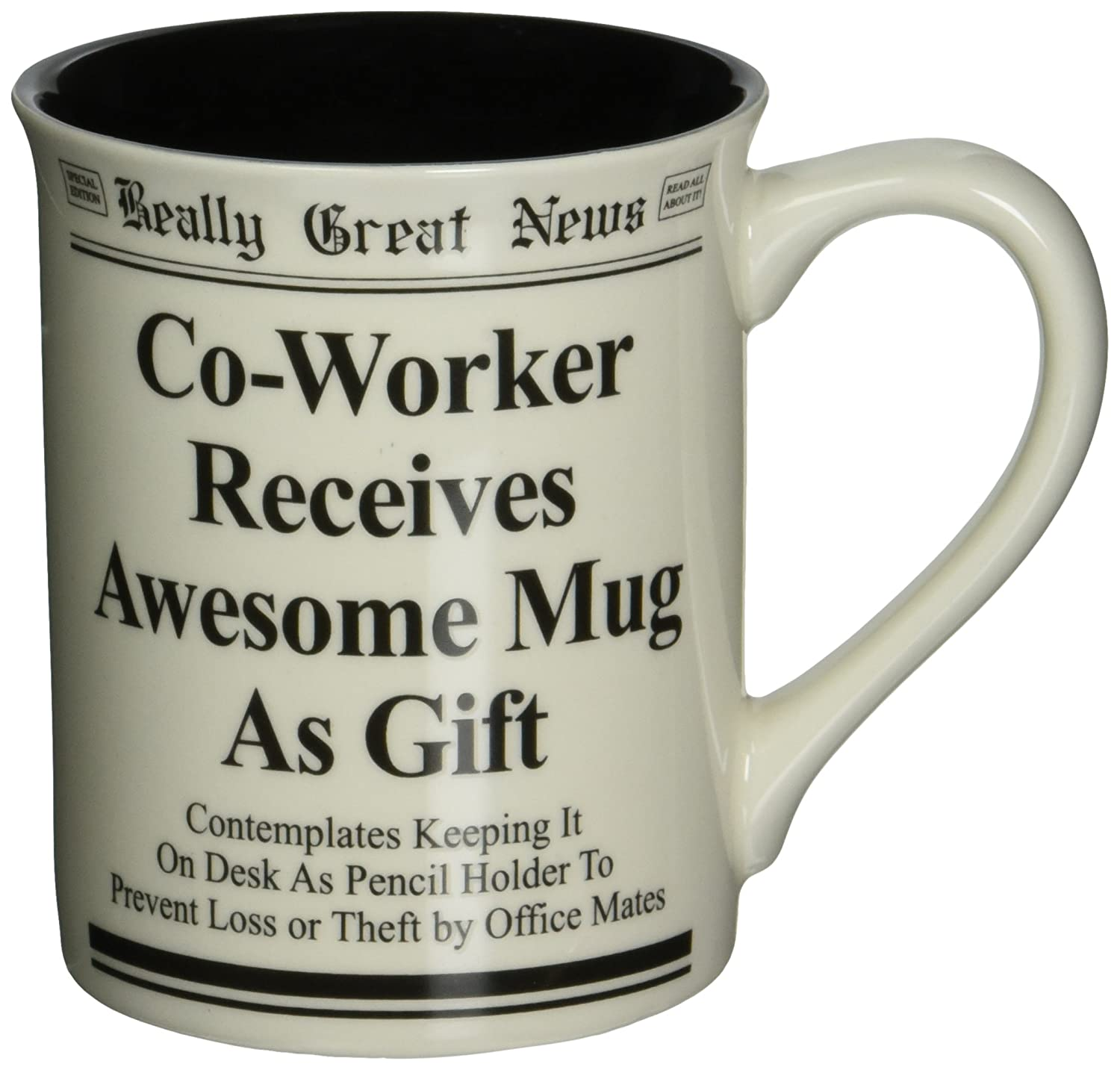 An Awesome Mug Is Gift For Male Co Worker Of Yours This Way He Can Drink His Coffee Tea Hot Lemon Water