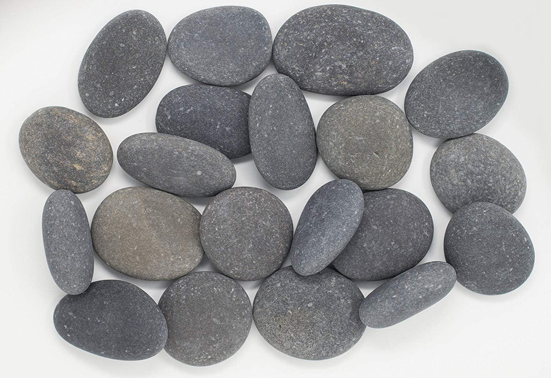 RM 3Kg Large River Beach Pebbles 3-5 inches, Decor, Garden, Landscape