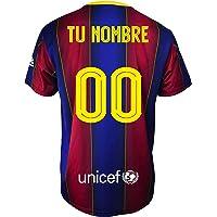 Champion's City Kit - Personalizable - Camiseta y Pantalón Infantil Primera Equipación - FC Barcelona - Réplica…