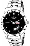 Swisso Analogue Black Dial Boy's & Men's Watch - Black-Dial-Men