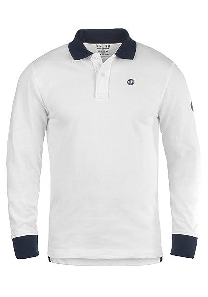 BLEND Ralle - Camiseta Polo para Hombre  Amazon.es  Ropa y accesorios 29307e3f99ff1