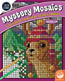 MindWare Color-by-Number Mystery Mosaics: Book 17 – Activity Coloring Book for Kids, Teens & Adults – Fun Challenge with…