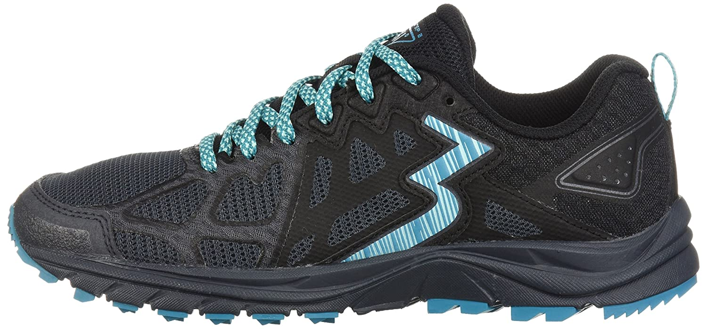 361 Women's 361-Overstep 2 Trail Running Shoe B075V37LCC 12 B(M) US|Ebony/Black
