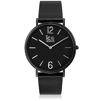 fe163be44e427a Ice-Watch - CITY tanner Black - Montre noire mixte avec bracelet en cuir -