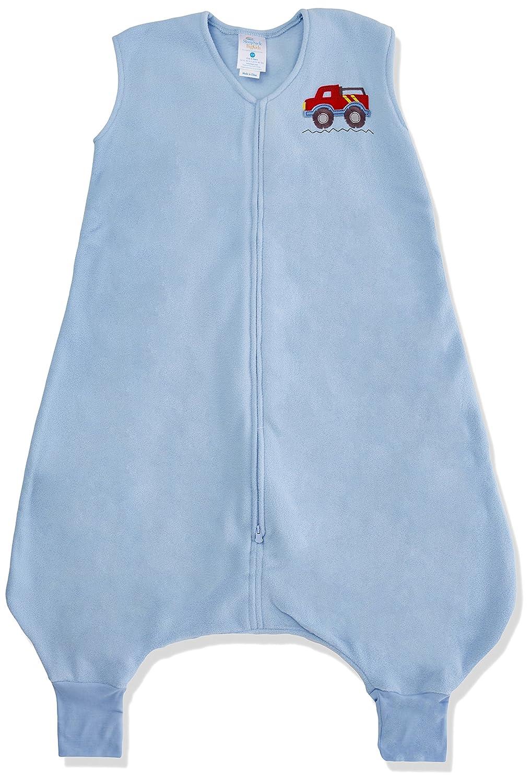Halo Innovations Big Kids Wearable Blanket Fleece (2-3 Years, Blue Truck) 2805