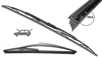 2 x swissint Premium de Repuesto de Gomas 610 mm para estándar Limpiaparabrisas