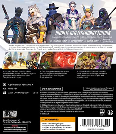 Overwatch Legendary Edition (XBox One): Amazon.es: Videojuegos