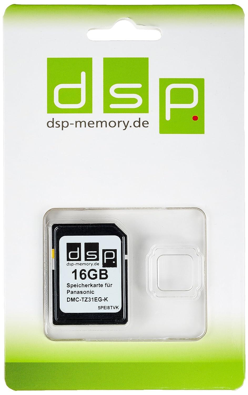 TALLA 16 GB. DSP Memory Z de 405155740149516GB Tarjeta de Memoria para Panasonic Lumix tz31eg de K