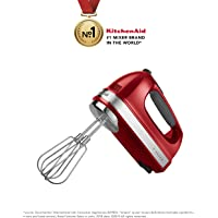 KitchenAid 7 Speed 5KHM720AWER Hand Mixer withTurbo Beaters & Liquid Blending Rod
