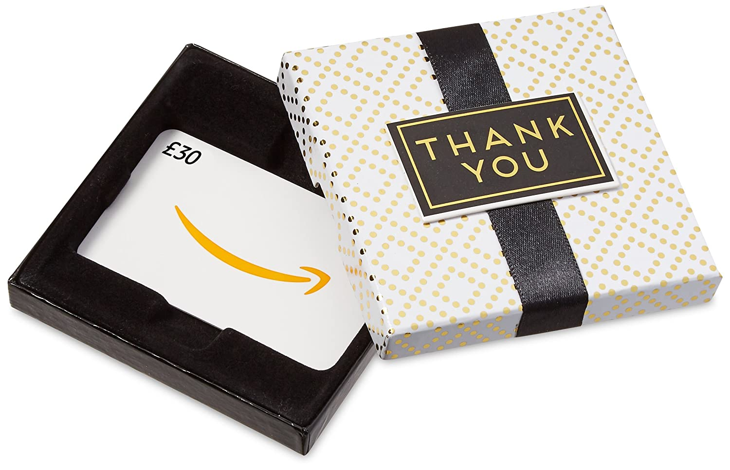 Amazon.co.uk Gift Card - In a Gift Box (Thank You) - FREE One-Day Delivery Amazon EU S.à.r.l. Fixed