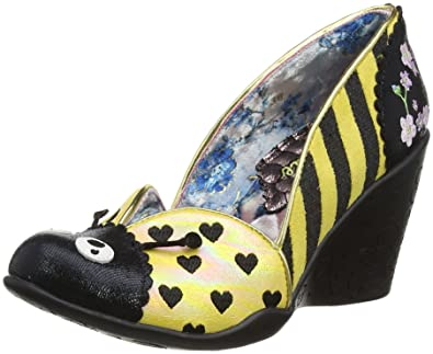 Irregular Choice Damen Lady Bee Pumps Rot