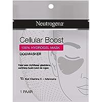 Neutrogena Cellular Boost Oogmasker, oogmasker met vitamine C en adenosine voor een zichtbaar gladdere, verfriste huid…
