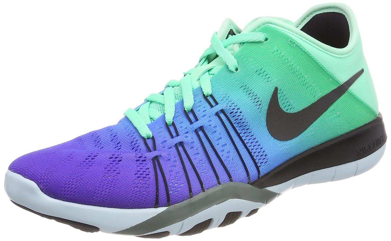Womens Nike Free TR 6 Training Shoes B01DL10NZG 8.5 B(M) US|Green Glow/Black/Glacier Blue/Hasta