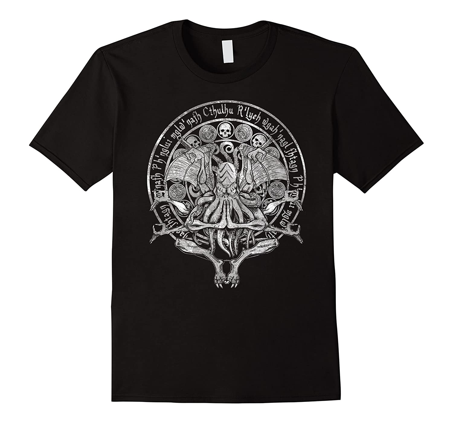 The Idol - Cthulhu TShirt White Variant-TH