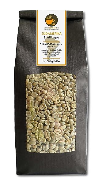 Verde Granos De Café Brasil Lagoa (Raw granos de café, unroasted)