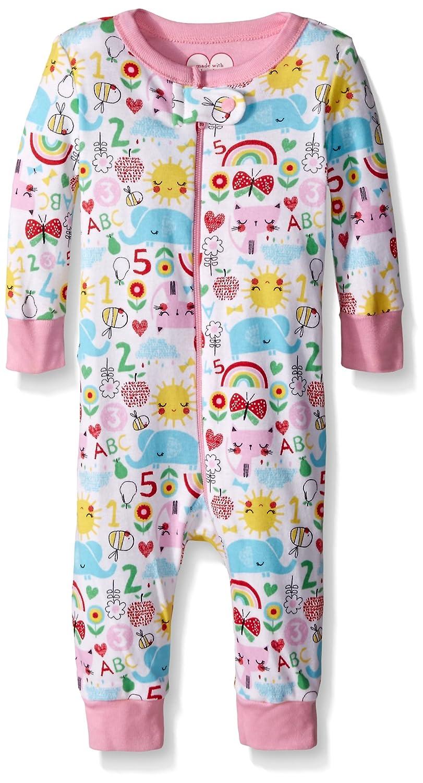 【売れ筋】 The Children's ベビーガールズ Place SLEEPWEAR B0193CNGFG ベビーガールズ 0 ホワイト - 3 Months ホワイト B0193CNGFG, 暮らすとあ:96ed5da3 --- turtleskin-eu.access.secure-ssl-servers.info
