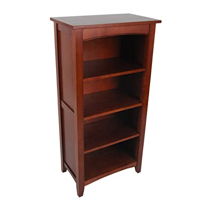 Alaterre Shaker Cottage Bookcase Tall Cherry