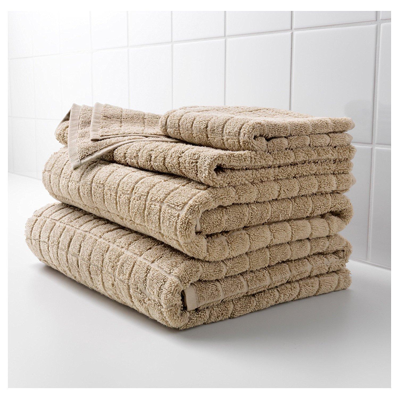 IKEA AFJARDEN - Toalla de 100% algodón para el hogar, baño, gimnasio, piscina, varios tamaños colores suave y muy absorbente: Amazon.es: Hogar