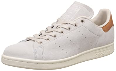 7aa0ed0517e9d3 adidas Originals Men s Stan Smith Cbrown and Owhite Sneakers - 10 UK India  (44.67