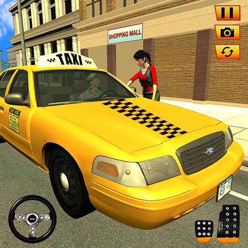 New York Passenger Taxi Driver- Car Driving ()