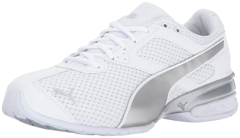 PUMA Women's Tazon 6 Knit Wn Sneaker B01MXYV7VV 7 B(M) US|Puma White-puma Silver