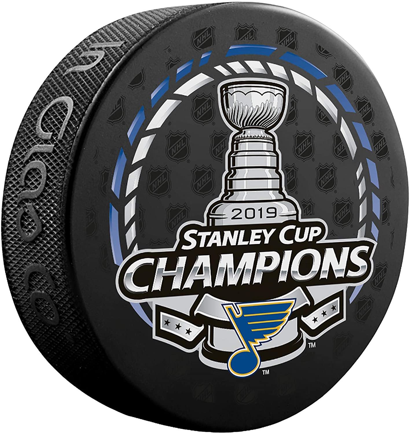 NA Louis Blues Unisex St Louis Blues Unsigned 2019 Stanley Cup Champions Logo Hockey PuckSt NA Fanatics Authentic NHL St Louis Blues Unsigned 2019 Stanley Cup Champions Logo Hockey Puck