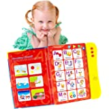 ABC Sound Book for Children. English Letters & Words learning toys for 3 year old Girls & Boys, Fun Educational Toys. Activit
