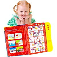 Boxiki kids ABC Sound Book for Children / English Letters & Words Learning Book, Fun Educational Toy. Learning…