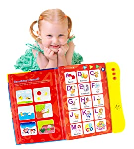 ABC Sound Book for Children. English Letters & Words Learning Book, Fun Educational Toys. Activities With Numbers, Shapes, Colors and Animals for Toddlers. Gift for Girls and Boys: 2:6 Year Old