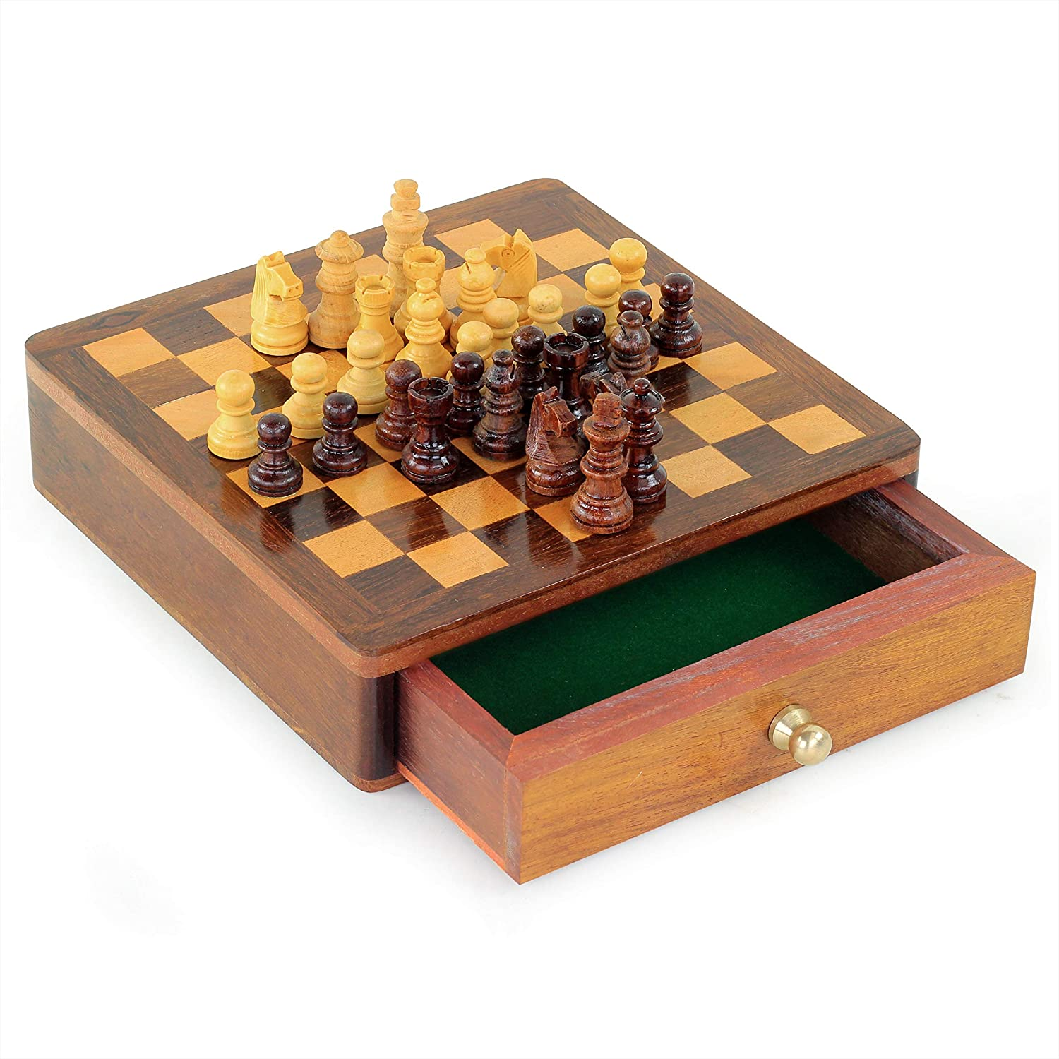Chess Board with Drawer | Board Games | Nagina International