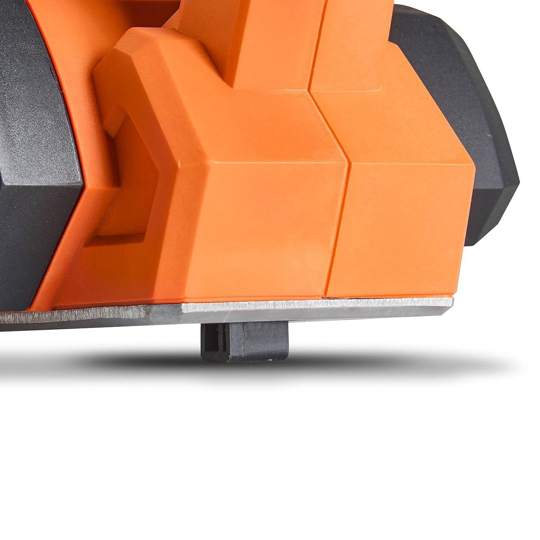 Maximale Hobeltiefe 3 mm 16,000 U//min VonHaus 900W Elektrischer Handhobel mit 82 mm Hobelbreite