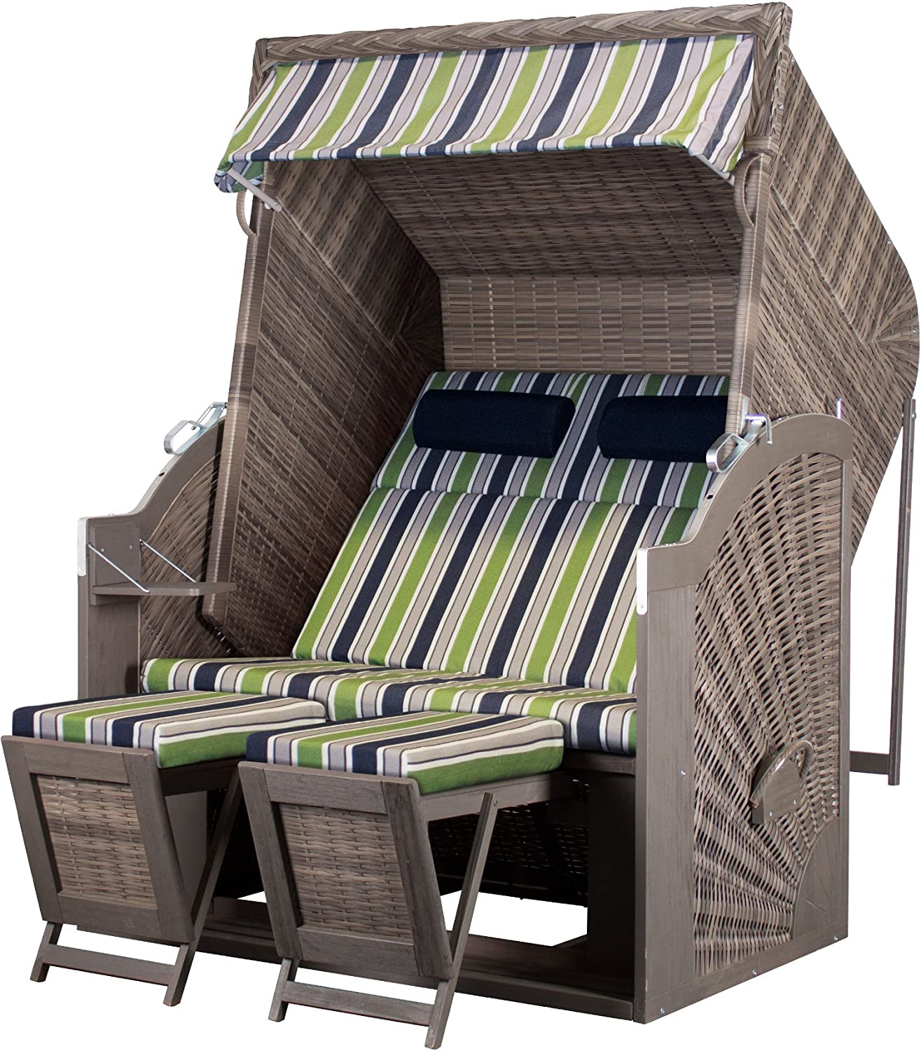 Beach Chair Devreies Trendy Pure Classic XL Sun PE GREY