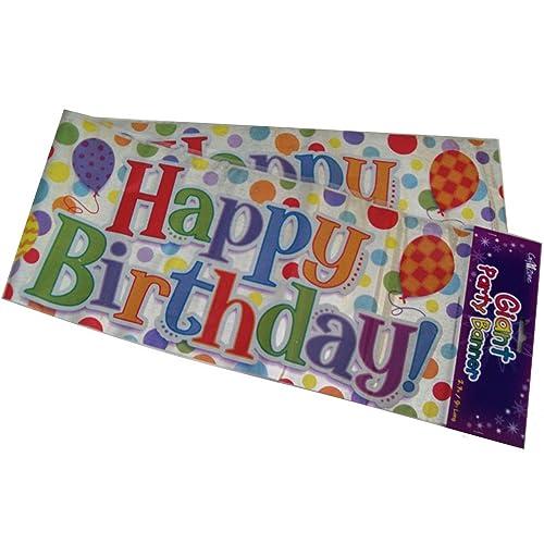 Birthday Banners: Amazon.co.uk