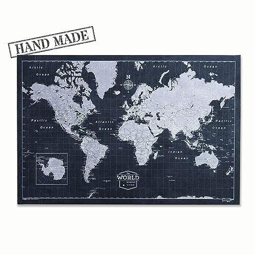 Push Pin World Map Board - With Push Pins to Mark World Travel - Handmade Sale Push Pin World Map on plastic world map, modeling clay world map, cork board world map, penguin world map, paper world map, bulletin board with world map, key world map, clip world map, framed world map, staples world map, pen world map,