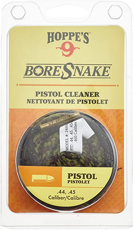 .44 /& .45 calibre cal Bore Snake Cleaner Cord pistolet pistolet Boresnake Pull Through
