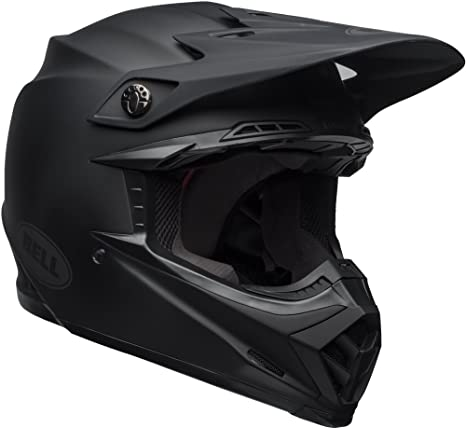 bb4ca13cf16e6 Bell Moto-9 MIPS Off-Road Motorcycle Helmet (Solid Matte Black, Medium)