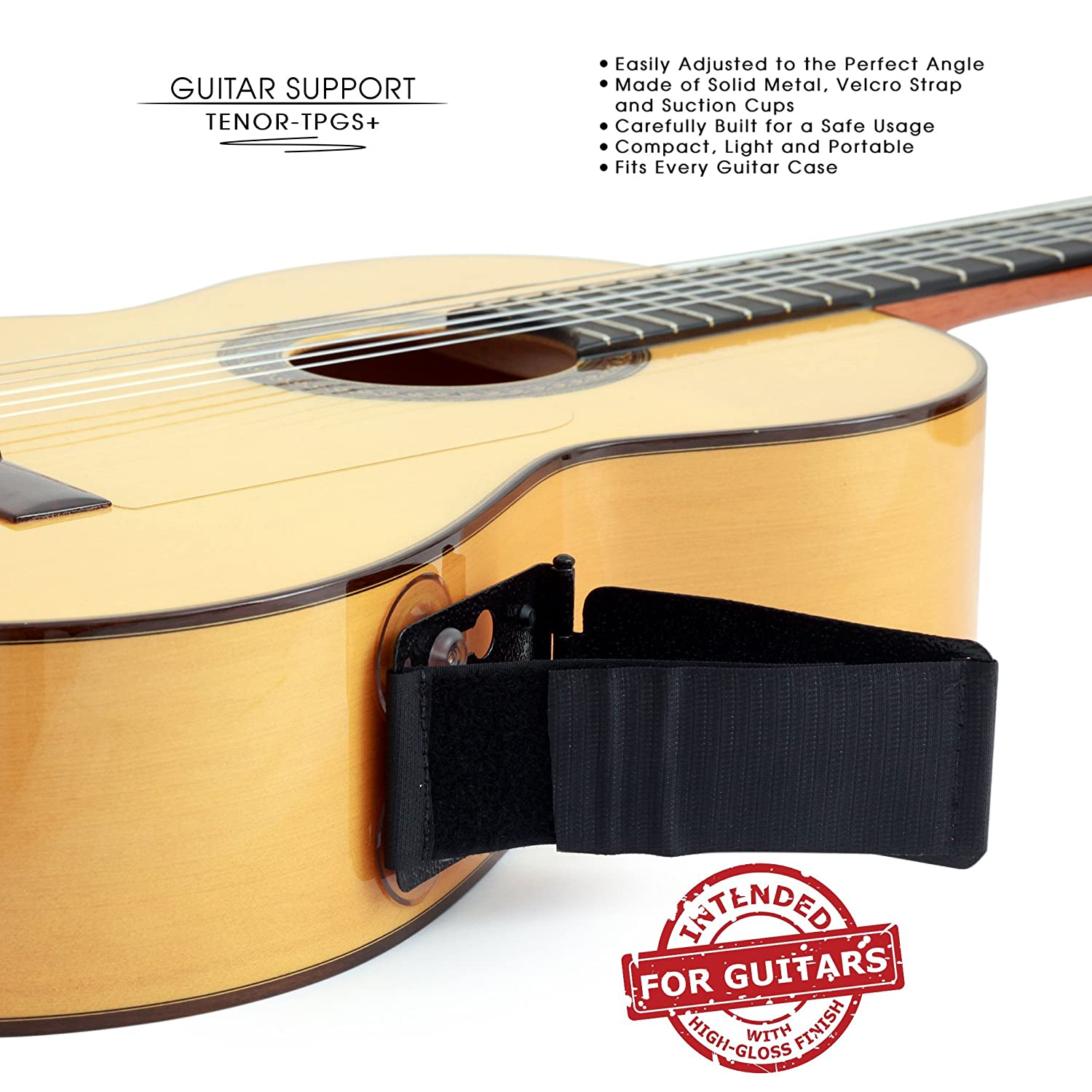 tenor tpgs professional ergonomic guitar rest guitar