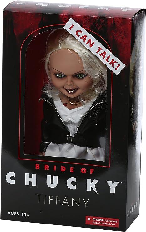 Chucky Muñeca parlante Tiffany La Novia 38 cm: Amazon.es: Juguetes ...