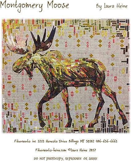 Abilene Cow Collage Quilt Pattern By Laura Heine