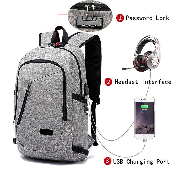 70b9c056cff9 Amazon.com  FLYMEI Laptop Backpack